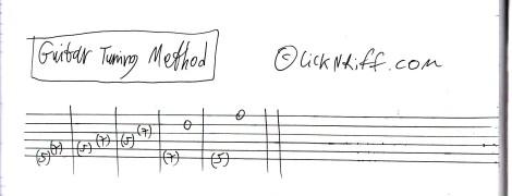 Guitar Tuning Method