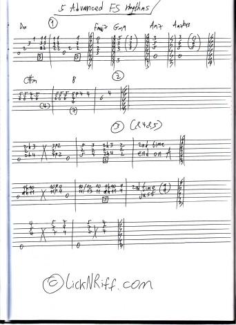 5 Advanced FS Rhythm Patterns