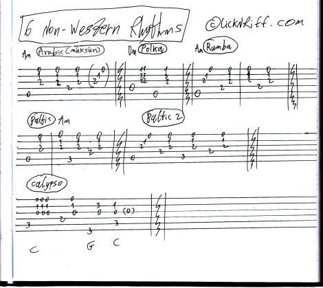 6 Non-Western Rhythm Patterns